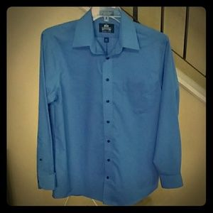 Stafford Wrinkle Free Long Sleeve Dress Shirt